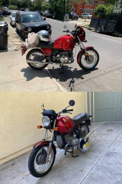 1983 BMW R-Series Red for sale craigslist photo