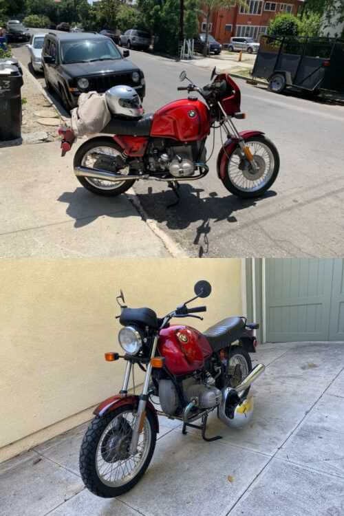 1983 BMW R-Series Red for sale craigslist