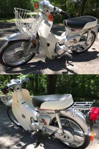 1983 Honda C70 Passport Silver for sale