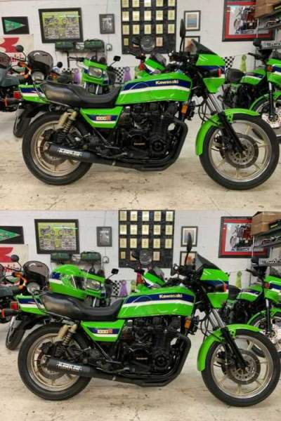 1983 Kawasaki KZ1000R EDDIE LAWSON SUPERBIKE REPLICA Green for sale