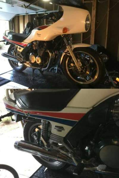1983 Yamaha XJ900 White for sale