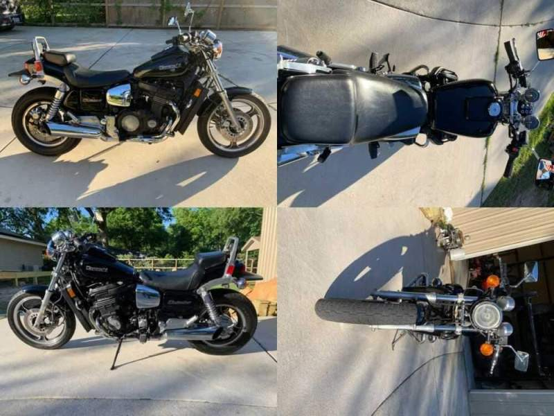 1985 Kawasaki Eliminator ZL900 Black for sale craigslist photo