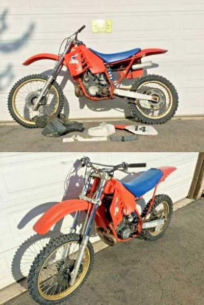 1987 Honda CR Red for sale