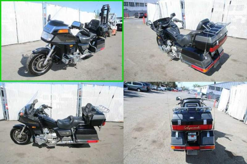 1987 Honda Gold Wing Black for sale craigslist photo