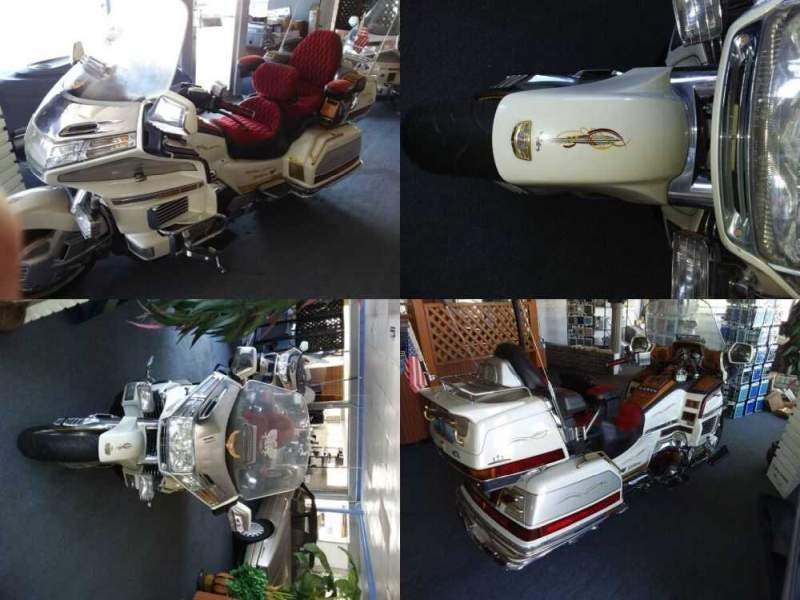 1990 Honda Gold Wing White for sale craigslist photo