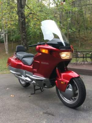 1990 Honda PC800 Pacific Coast Red for sale craigslist