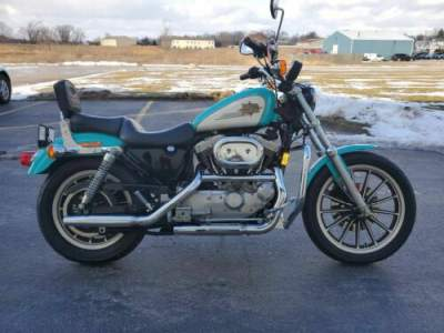1997 Harley-Davidson XL1200S - Sportster® Sport 1200S Blue for sale craigslist photo