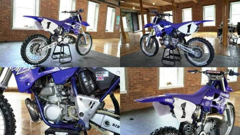 1998 Yamaha YZ Blue for sale craigslist photo