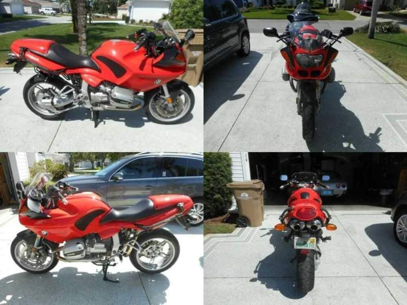1999 BMW R-Series Red for sale craigslist photo