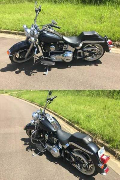 2000 Harley-Davidson Softail Blue for sale