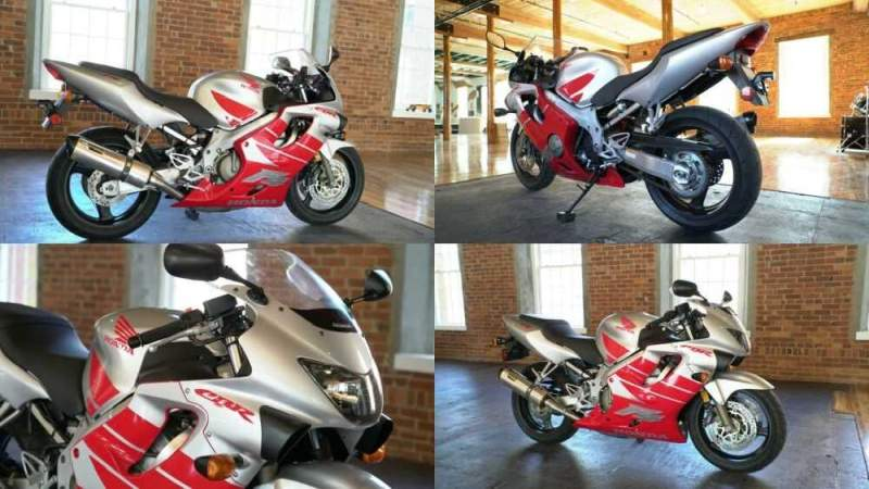 2000 Honda CBR Red & Silver for sale craigslist