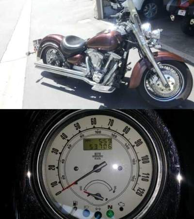 2000 Yamaha Road Star Black for sale