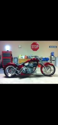 2003 Custom Built Motorcycles Pro Street Candy apple red for sale craigslist