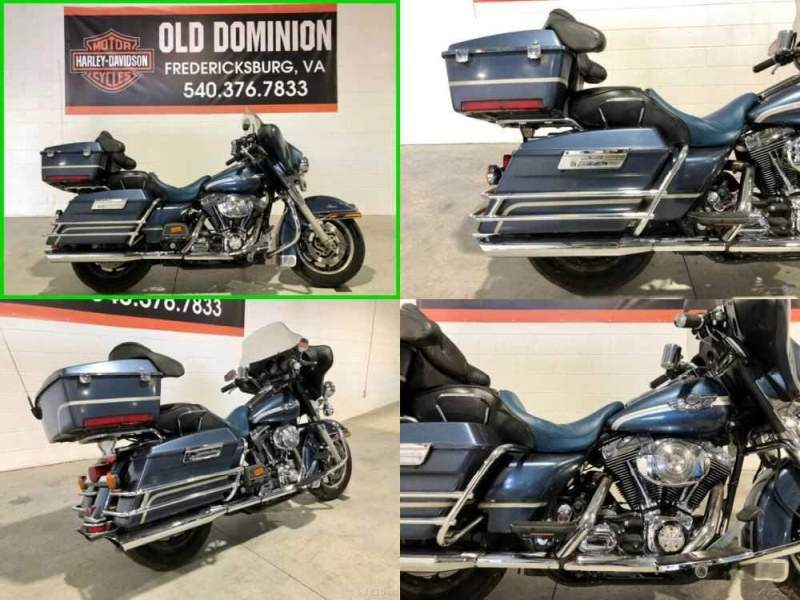2003 Harley-Davidson FLHTCUI Ultra Classic Electra Glide Gunmetal Pearl for sale craigslist