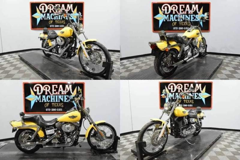 2003 Harley-Davidson FXDWG - Dyna Wide Glide 100th Anniversary Yellow for sale craigslist