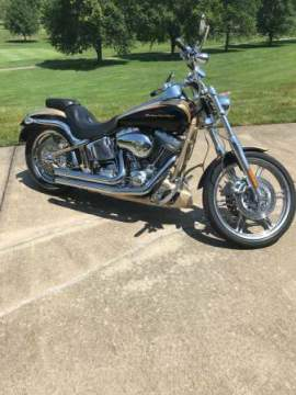 2003 Harley-Davidson Softail CENTENNIAL GOLD VIVID BLACK GOLD LEAF GRAPHICS for sale