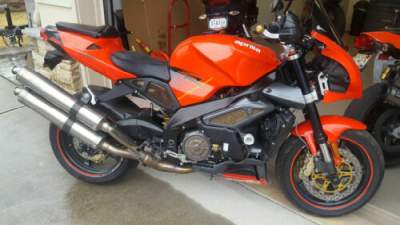 2004 Aprilia TUONO R Red for sale craigslist photo