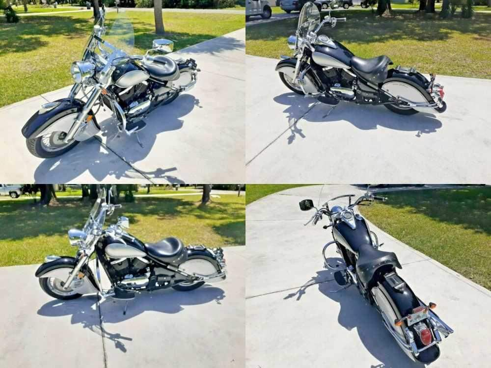 2004 Kawasaki Vulcan Black for sale craigslist photo