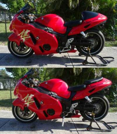 2004 Suzuki Hayabusa Red for sale craigslist