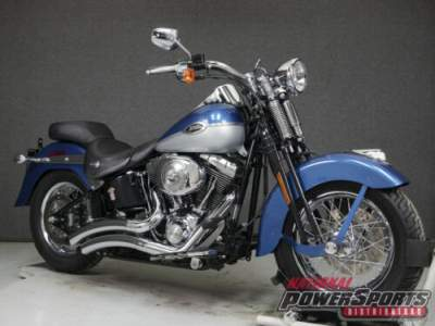 2005 Harley-Davidson Softail CHOPPER BLUE/BRILLIANT SILVER for sale craigslist