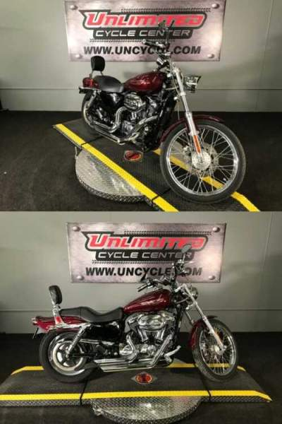 2005 Harley-Davidson Sportster® XL 1200 Custom Red for sale