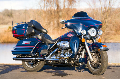 2005 Harley-Davidson Touring Rich Sunglo Blue for sale craigslist photo