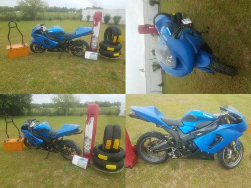 2005 Kawasaki Ninja Blue for sale craigslist photo