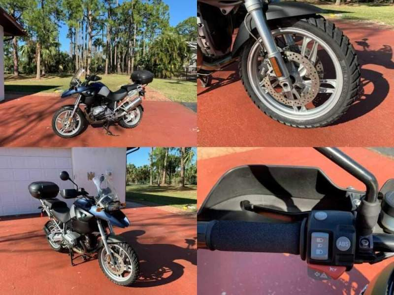 2006 BMW R-Series Blue for sale