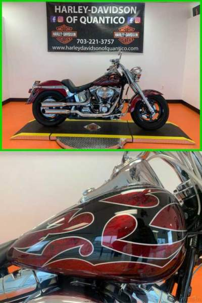 2006 Harley-Davidson Softail Fat Boy Flamed Graphic for sale craigslist photo