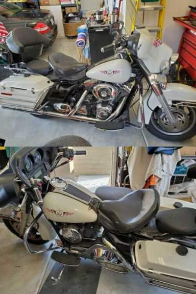 2006 Harley-Davidson Touring BLACK & WHITE for sale craigslist