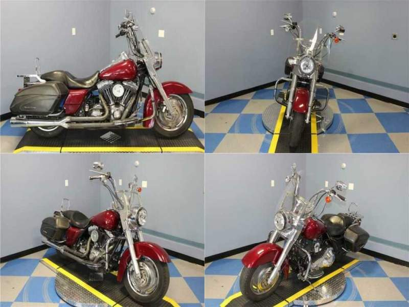 2006 Harley-Davidson Touring Classic Brandy Wine Sunglo for sale craigslist