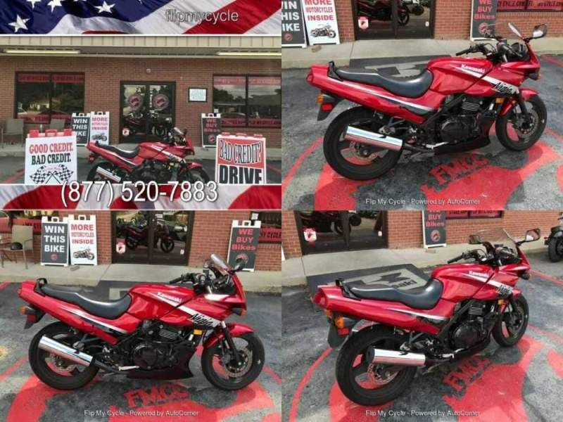2006 Kawasaki EX500-D Red for sale
