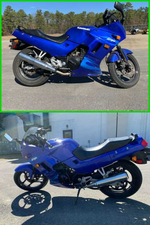 2006 Kawasaki Ninja 250R Blue for sale
