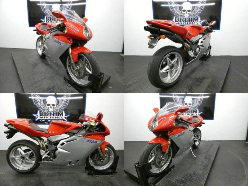 2006 MV Agusta F4 1000S Red for sale craigslist photo