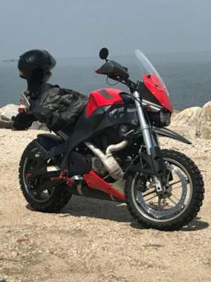 2007 Buell Ulysses Red for sale craigslist photo
