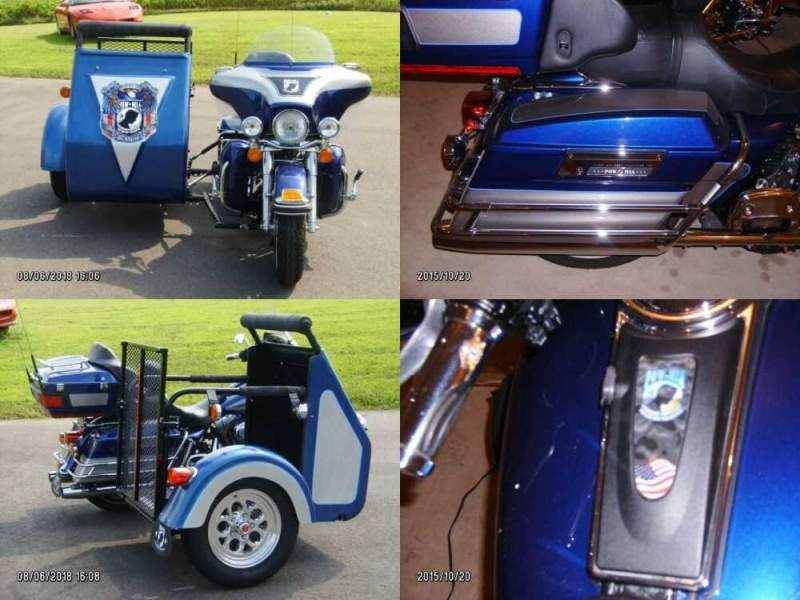 2007 Harley-Davidson FLHTCU Electra Glide Blue for sale craigslist photo