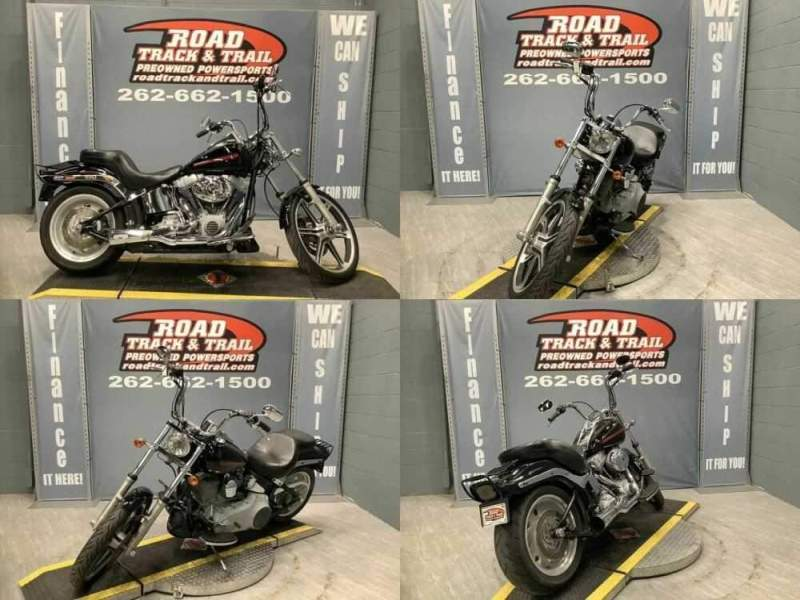2007 Harley-Davidson FXST - Softail® Standard Black for sale craigslist