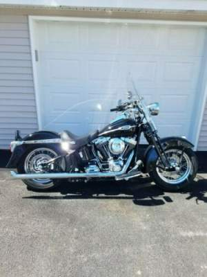 2007 Harley-Davidson Softail Black for sale craigslist photo