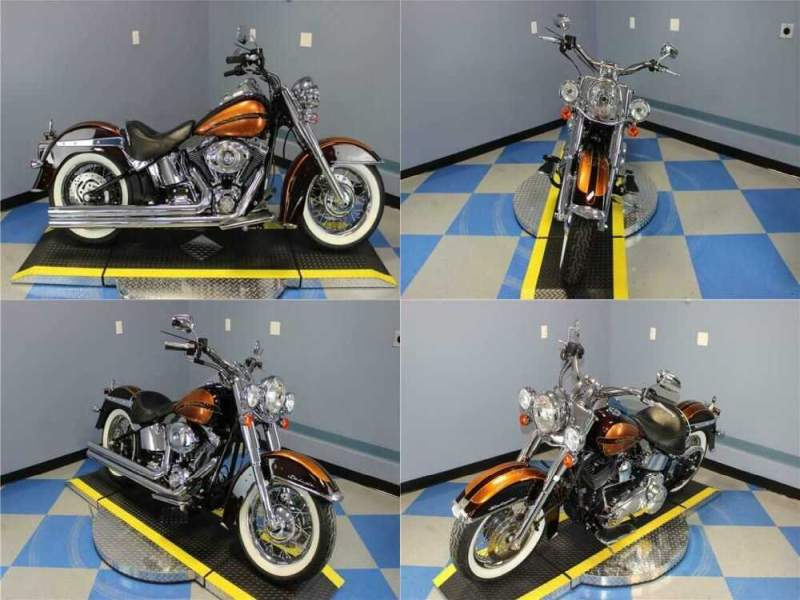 2007 Harley-Davidson Softail Deluxe Brown for sale