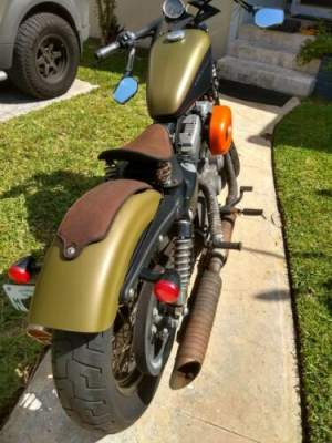 2007 Harley-Davidson Sportster XL1200N NIGHTSTER Green for sale