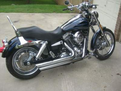 2007 Harley-Davidson Street FXDSE CVO Blue for sale craigslist photo