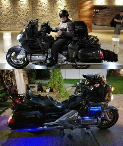2007 Honda GL1800 Black for sale craigslist