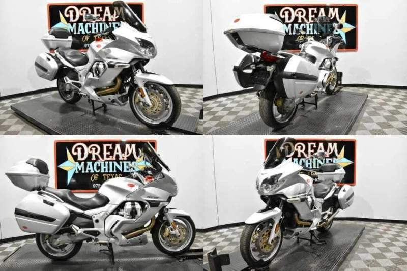 2007 Moto Guzzi Norge 1200 GT Silver for sale craigslist