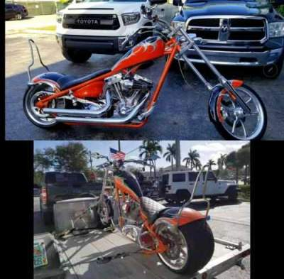 2008 Big Dog BIG DOG ORANGE / BLACK for sale craigslist photo