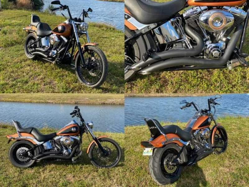 2008 Harley-Davidson Softail FXSTC CUSTOM 105TH ANNIVERSARY ANNIVERSARY COPPER PEARL/VIVID BLACK for sale