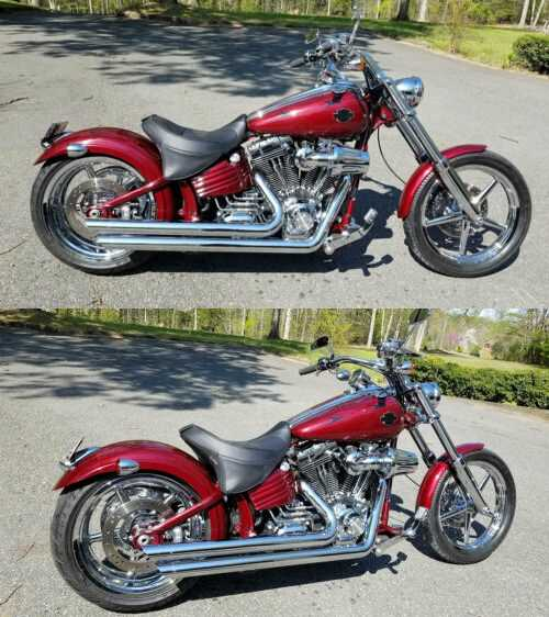 2008 Harley-Davidson Softail Red for sale craigslist photo