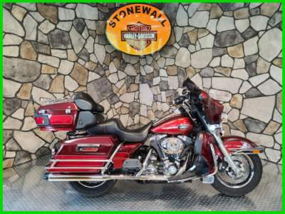 2008 Harley-Davidson Touring Ultra Classic Electra Glide Crimson Red Sunglo / Candy Red Sunglo for sale craigslist