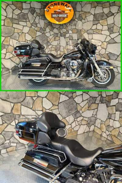 2008 Harley-Davidson Touring Ultra Classic Electra Glide Vivid Black for sale