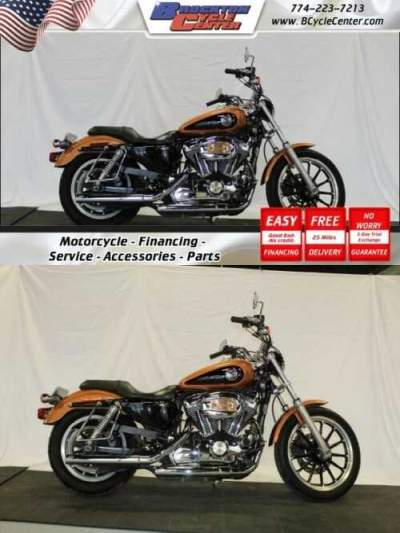 2008 Harley-Davidson XL1200L Sportster 1200 Low Orange for sale craigslist