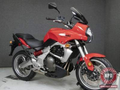2008 Kawasaki Versys KLE650 650 Red for sale craigslist